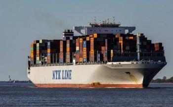 Sporing av container